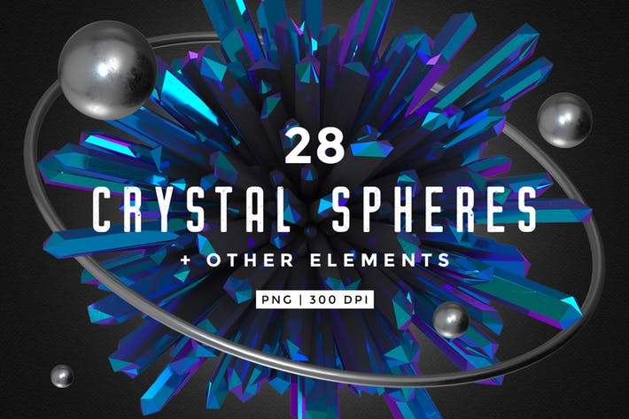 Thumbnail for Crystal Spheres + Other elements