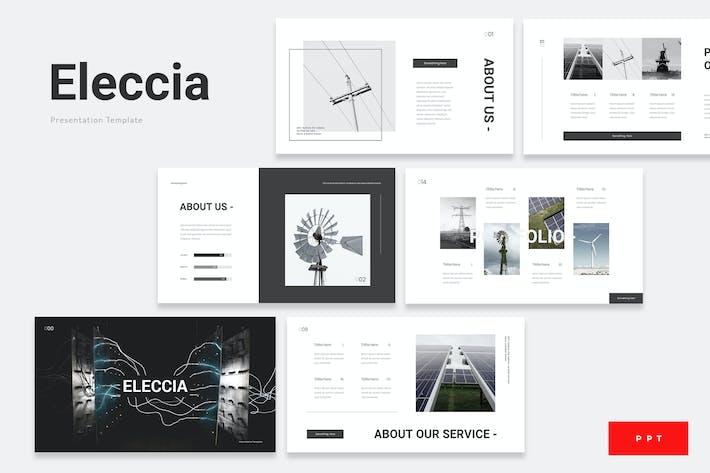 Thumbnail for Eleccia - Шаблон Powerpoint из возобновляемых источников энергии