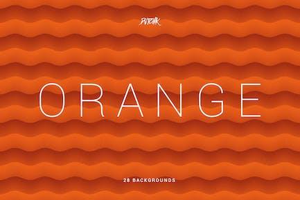 Naranja | Fondos Suave Resumen ondulados