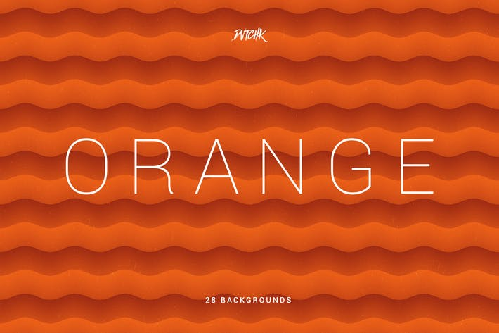Thumbnail for Orange | Soft Abstract Wavy Backgrounds
