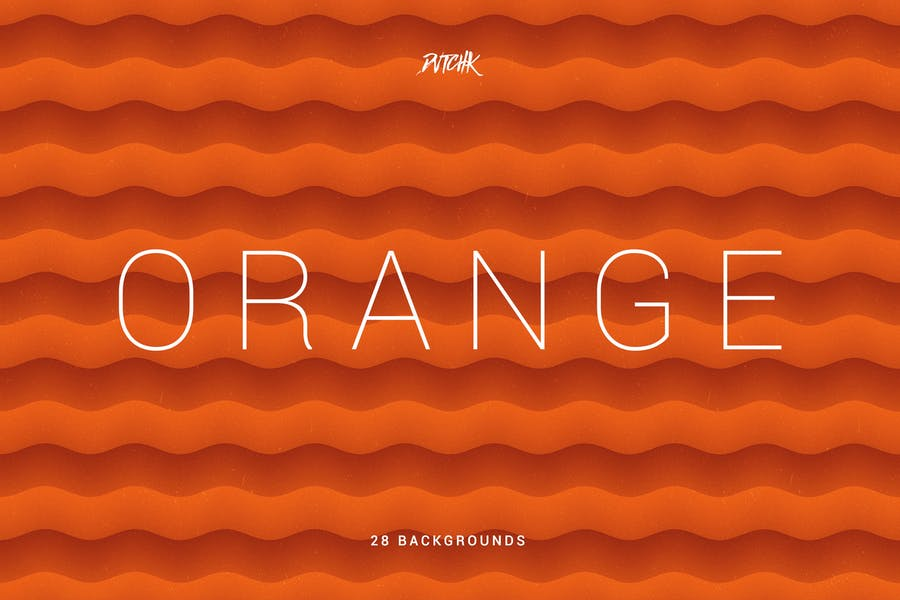 Orange | Soft Abstract Wavy Backgrounds