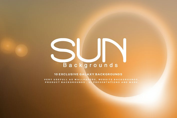 Thumbnail for Sun Backgrounds