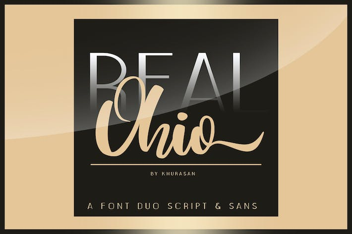 Thumbnail for Real Ohio Font Duo