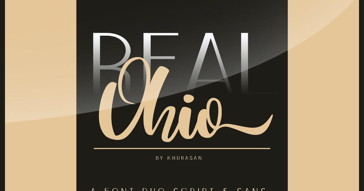 Download Real Ohio Font Duo by khurasan