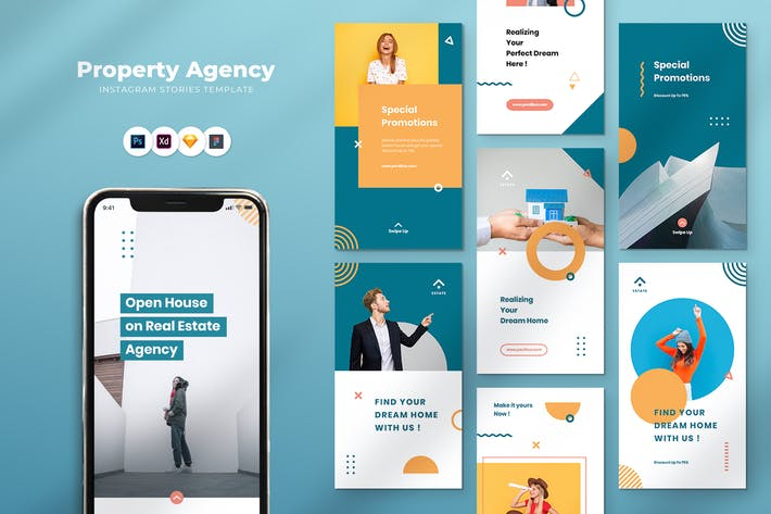 Thumbnail for Property Agency Instagram Stories