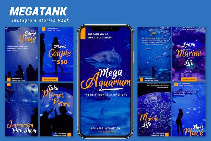 Thumbnail for Megatank - Instagram Template Pack