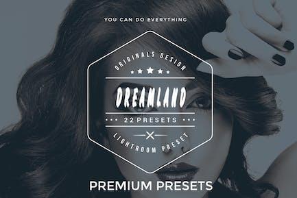 Dreamland Lightroom Presets