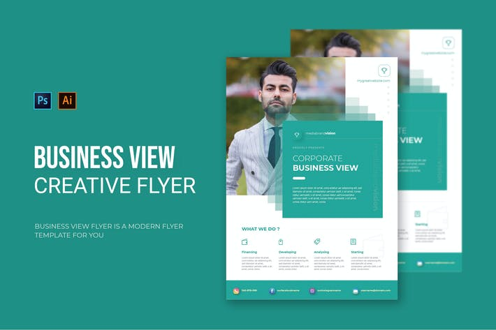Business View - Flyer