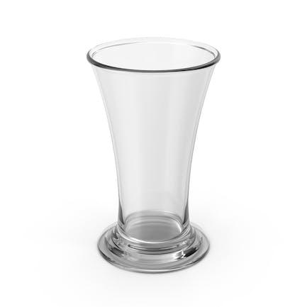 Schnapsglas leer