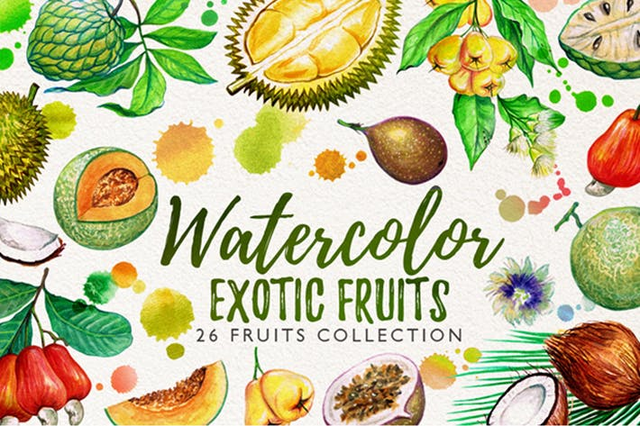 Thumbnail for watercolor fruits vol. 5