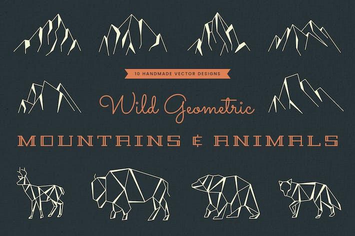 Thumbnail for Wild Geometric Mountains & Animals