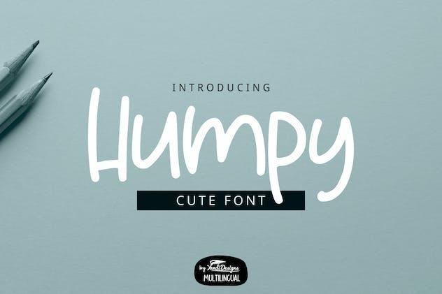 Humpy Font