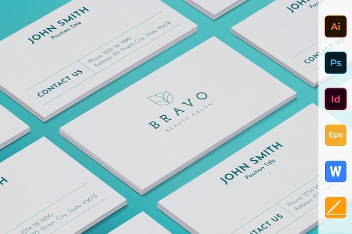 Thumbnail for Beauty Salon Business Card