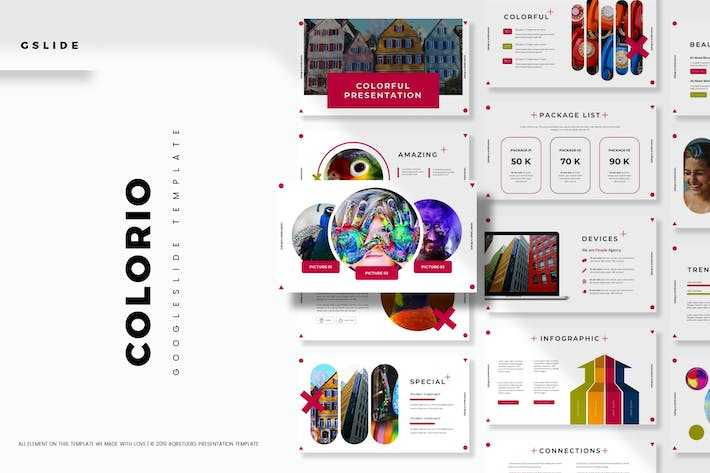 Cover Image For Colorio - Google Slide Template