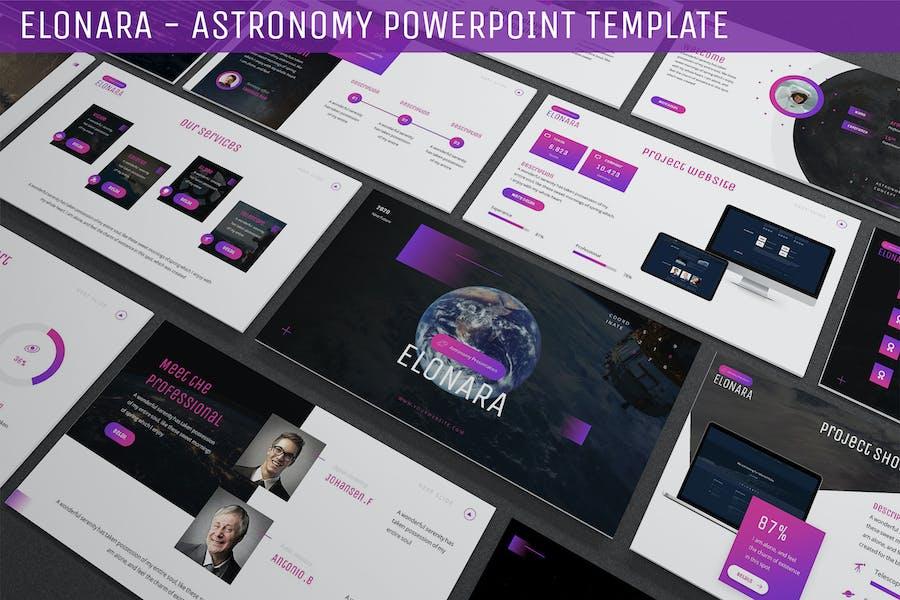Elonara - Astronomy Powerpoint Template