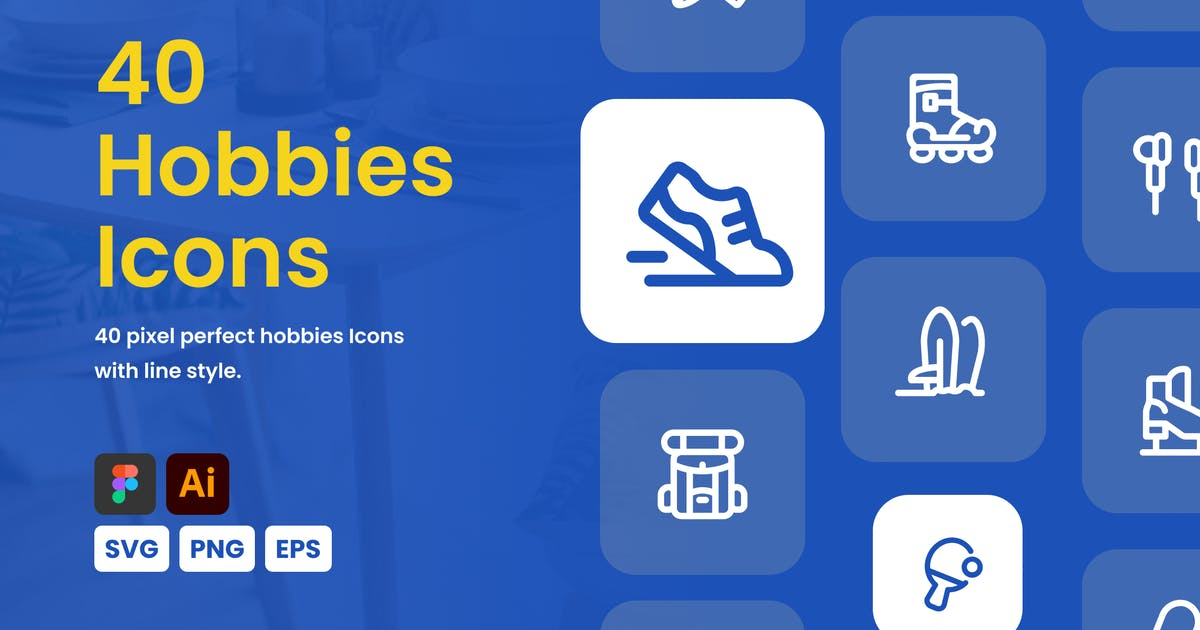 Download Hobbies Icon Set by mhudaaa