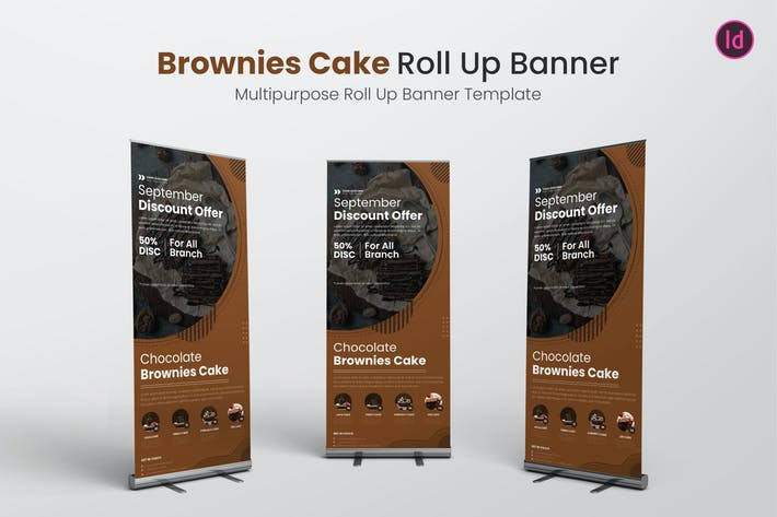 Thumbnail for Brownies Cake Roll Up bannière