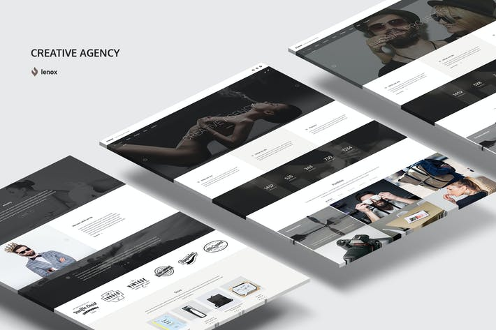 Thumbnail for Creative Agency PSD Template