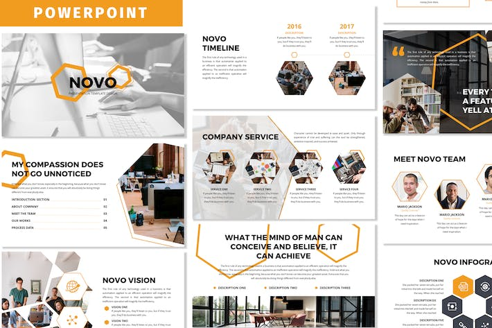 Thumbnail for Novo - Business Powerpoint Template