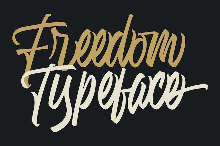 Thumbnail for Freedom Typeface