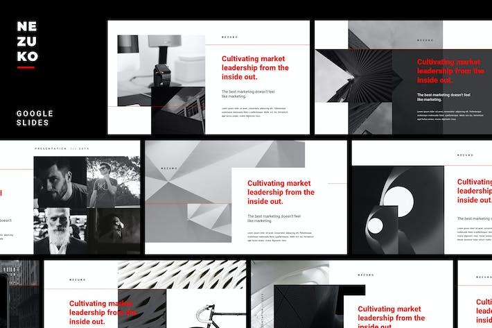 Thumbnail for Nezuko - Modern Minimal Google Slides