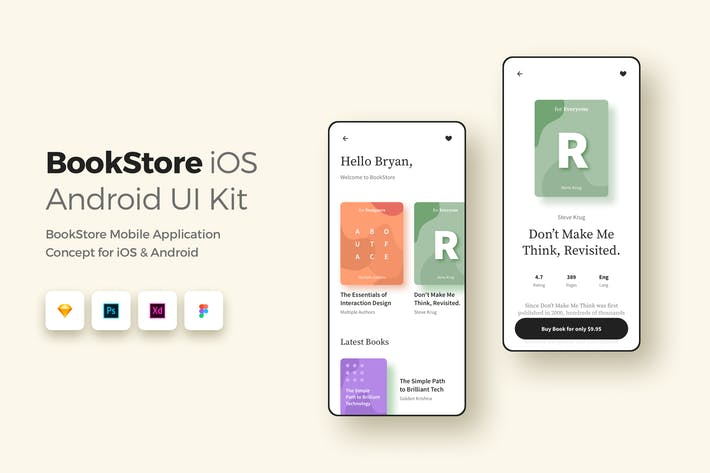 Thumbnail for Book Store iOS & 
