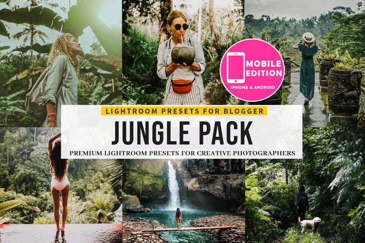 Jungle Lightroom Presets