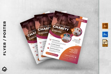 Charity Template Flyer / Poster