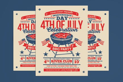 4th of July BBQ Party Celebration