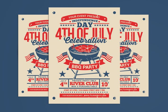 Thumbnail for 4th of July BBQ Party Celebration