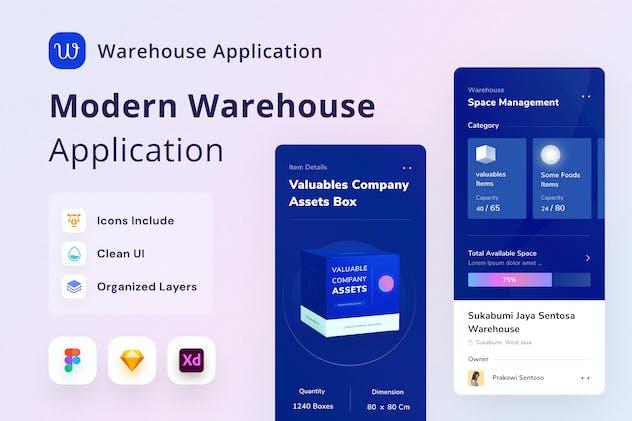 Warhouse Mobile App