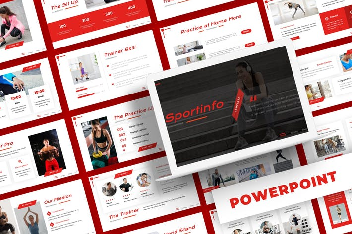 Thumbnail for Sportinfo - Powerpoint Template