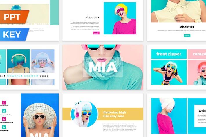 Thumbnail for Mia Presentation Template