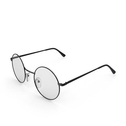 Runde Vintage-Gläser