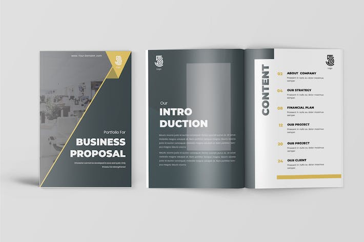 Thumbnail for Jacob - Business Proposal Template