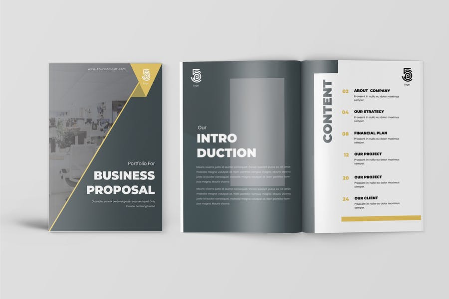 Jacob - Business Proposal Template