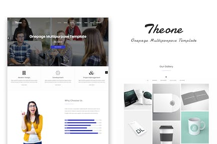 Theone - Onepage Multiporpose Template