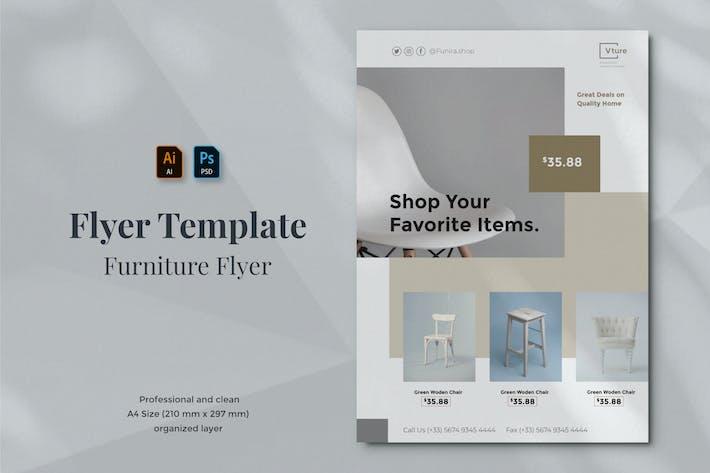Thumbnail for Vurnies - Furniture Flyer Template 08