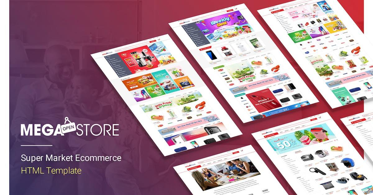Download MegaStore | Super Market Ecommerce HTML Template by EngoTheme