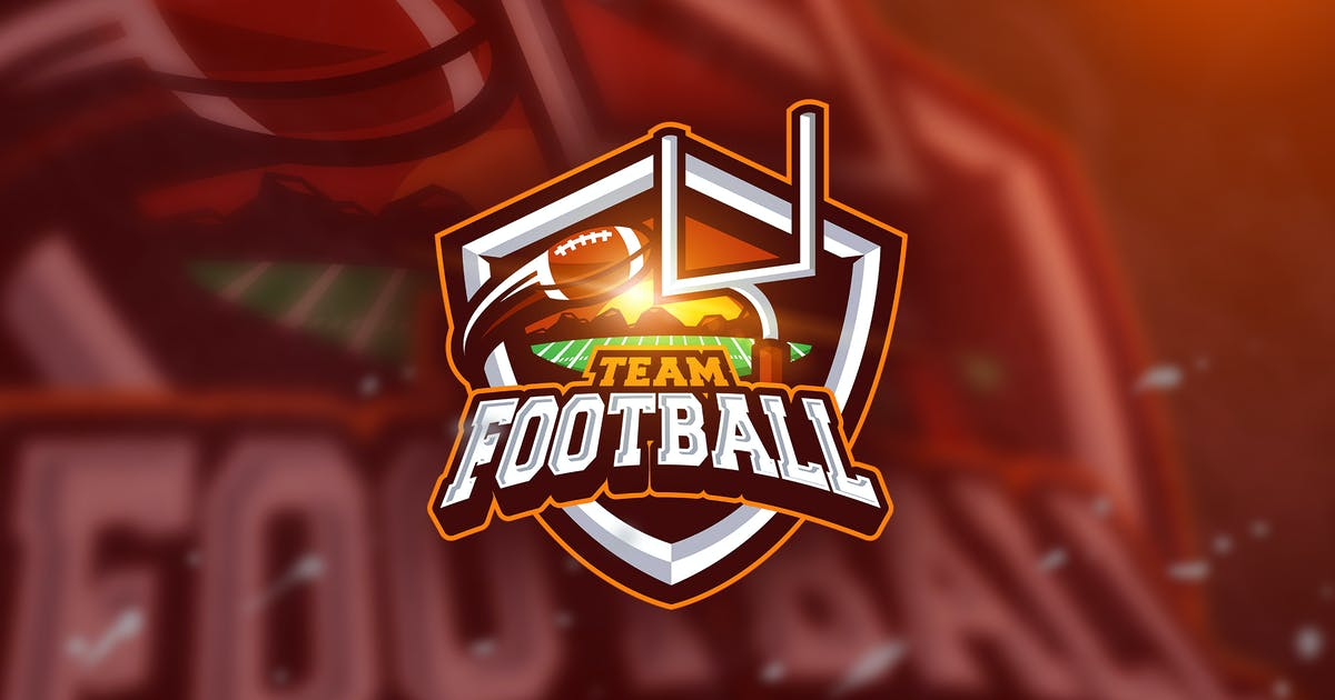 Download Football poin - Mascot & Esport Logo by aqrstudio