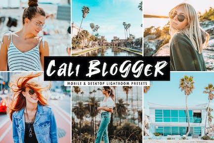 Cali Blogger Mobile & Desktop Lightroom Presets