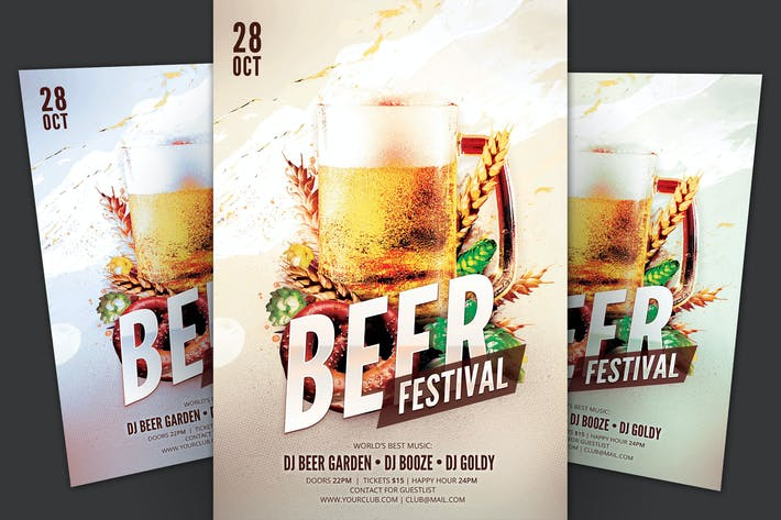 Thumbnail for Beer Festival Flyer