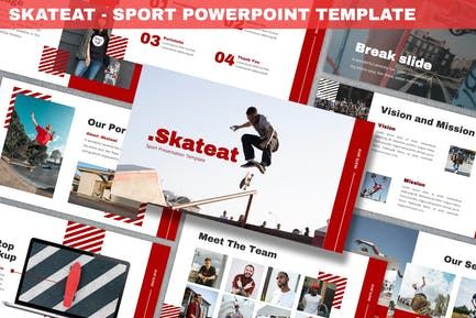 Skateat - Sport Powerpoint Template
