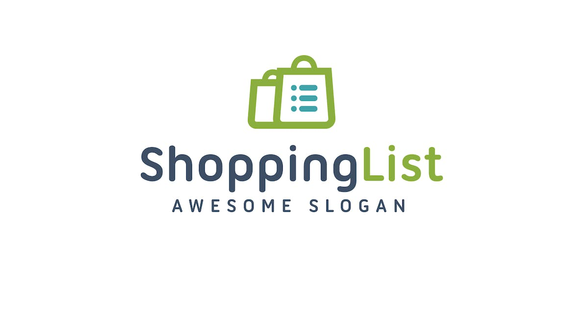 Download Shopping List Logo Template by Be_Themes