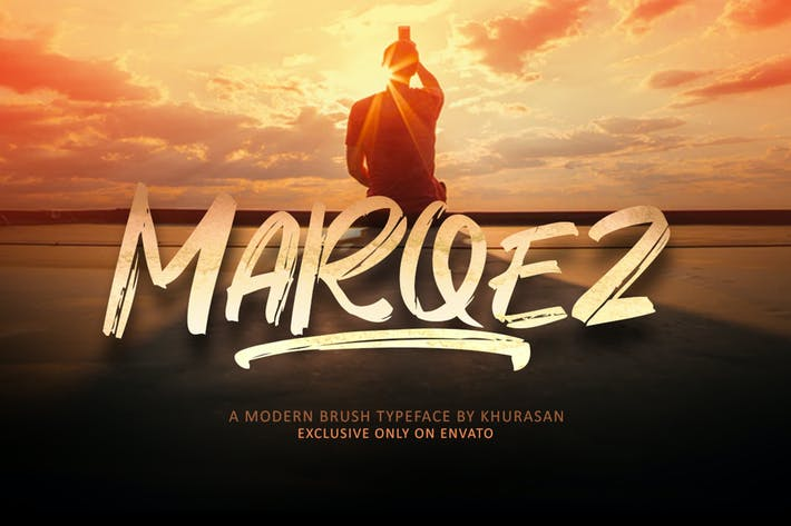 Thumbnail for Marqez Brush Font