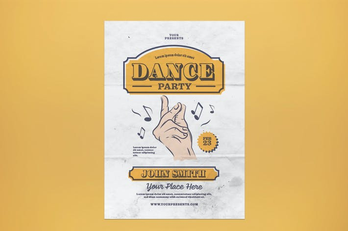 Thumbnail for Dance Party Flyer