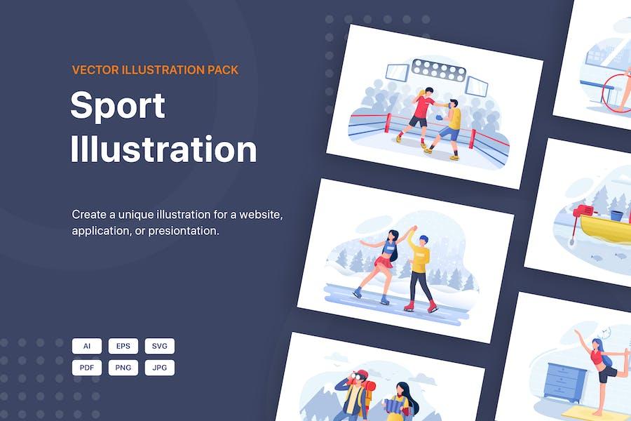 Hobbies Vector Illustration Pack