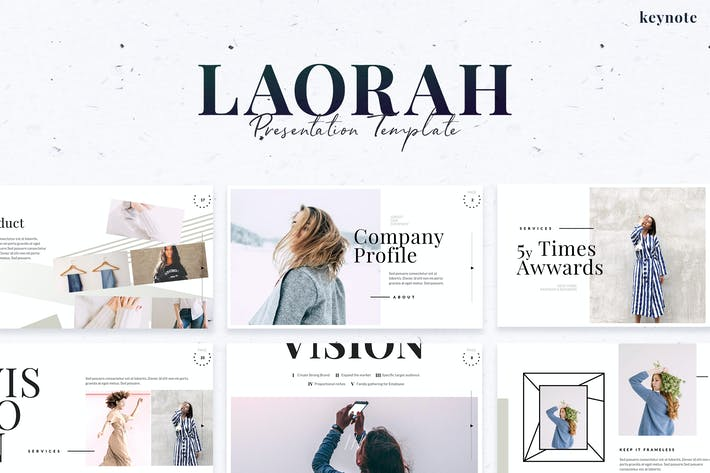 Thumbnail for Laorah - Keynote Template