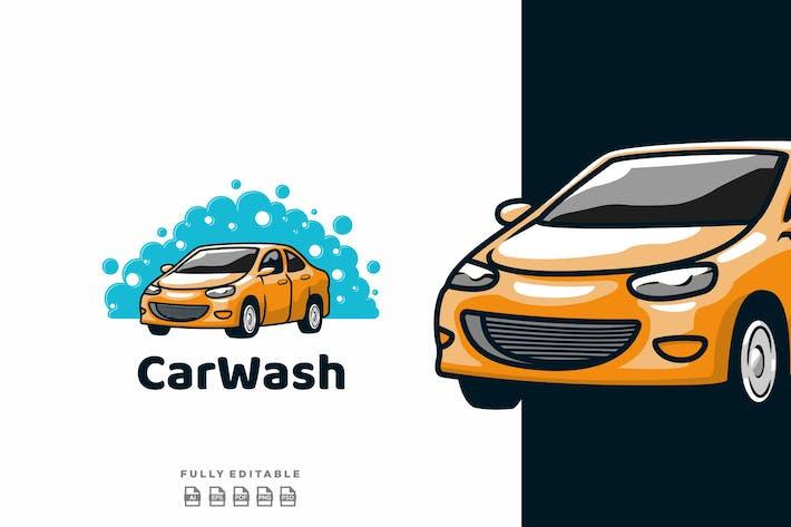 Thumbnail for Carwash Yellow Car Logo