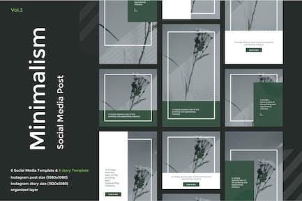 Minimalism Social Media Kit vol 3